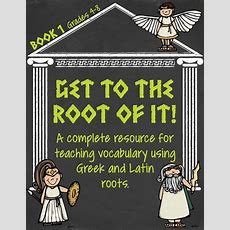 Greek And Latin Root Words {book 1}  Words, Activities And The O'jays