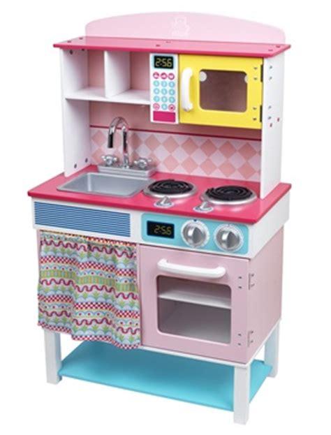 cuisine en bois grand chef kitchen vertbaudet