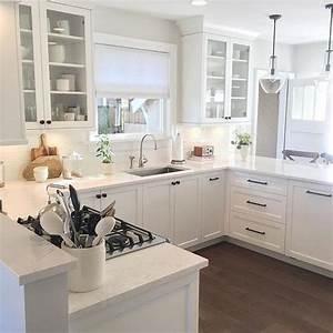 30, Popular, U-shaped, Kitchen, Design, Ideas