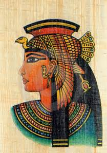 Ancient Egyptian Paintings Cleopatra