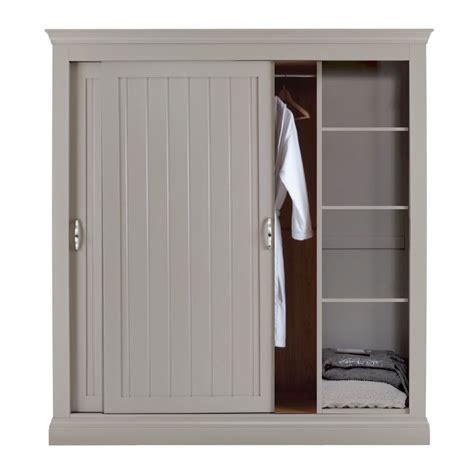 Grey Wood Wardrobe by Lusso Customisable Painted Sliding Door Wardrobe 1 8m