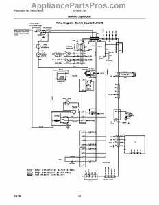 Parts For Electrolux Efme617stt0  Wiring Diagram Parts