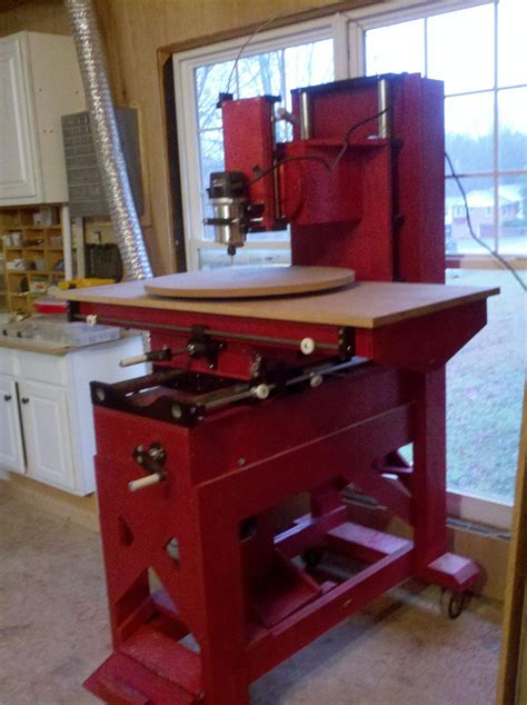 improved homemade router milling machine router forums