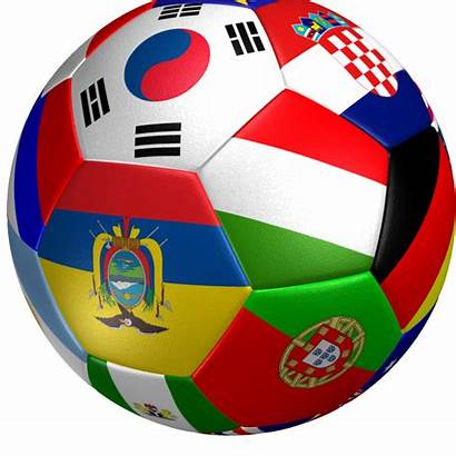 Soccer Ball Flag 3d Clipart Football Goal