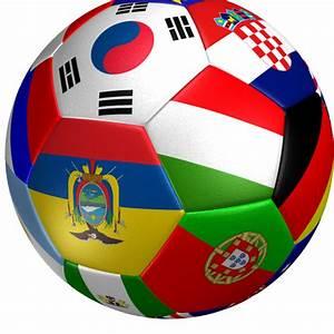 Soccer Ball Flag 3D Model Game ready .max .obj .3ds .fbx ...