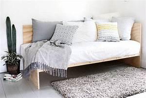 Couch Selber Bauen : bett selber bauen 12 einmalige diy bett und bettrahmen ideen ~ Markanthonyermac.com Haus und Dekorationen