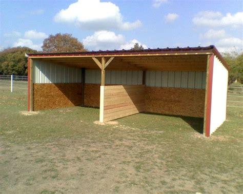 loafing sheds custom barns  storage buildings built