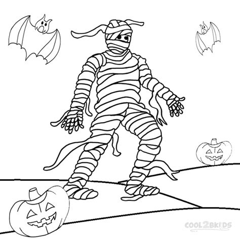 mummy coloring pages getcoloringpagescom