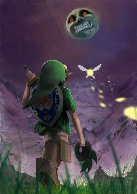 The Legend Of Zelda Majoras Mask Young Link Tatl And