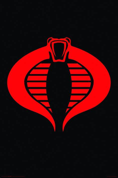 buy the gi joe cobra logo poster in canada media
