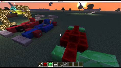 minecraft sports car minecraft how to build f1 sport car youtube