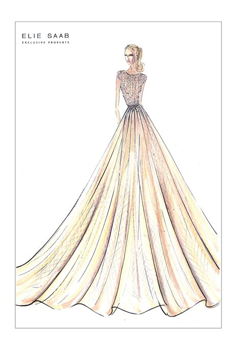 koenigliche mode bei harrods  london illustration mode