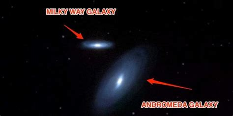 Milky Way Andromeda Galaxy Collision Business Insider