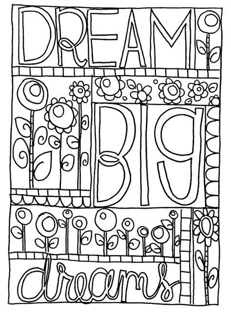 dream big coloring google search coloring pages