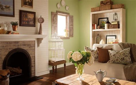 English Country Living Room : English Cottage Interior Paint Colors