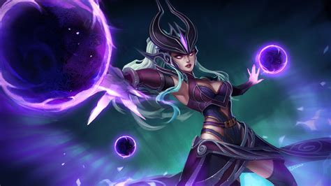 animated syndra wallpaper by cjxander on deviantart