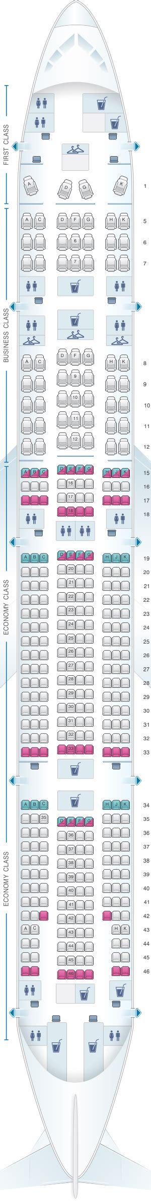 plan si es boeing 777 300er air mapa de asientos latam airlines brasil boeing b777 300er