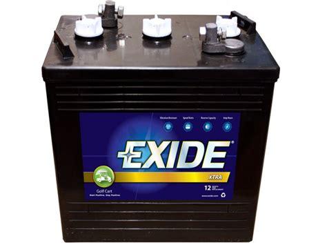 Exide GC-110 EXIDE XTRA GOLF CART & ELECTRIC VEHICLE BATTERIES