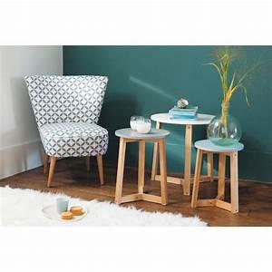 Table Basse Gigogne Maison Du Monde : tables basses gigognes vintage trio fauteuil vintage ~ Teatrodelosmanantiales.com Idées de Décoration