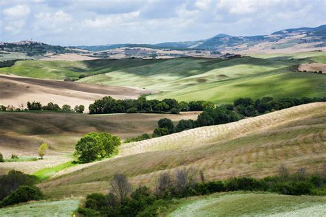 landscape, Italy, Hills, Fields, Tuscany Wallpapers HD ...