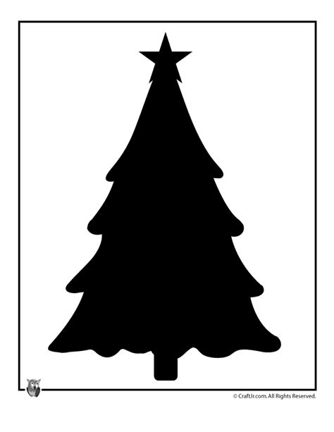 christmas tree template christmas tree template