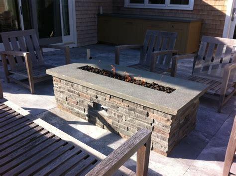 Tisch Mit Feuerstelle Gas by Diy Gas Pit Table Search Patio