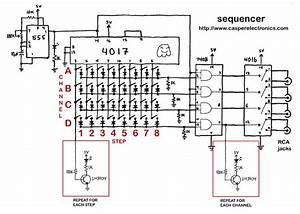 step sequencer With sequencer circuits