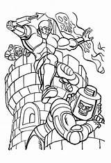 Coloring Pages He Printable Universe Jaw Trap Boys Books Krypto Gratis Farver Videospil Malesider Tegneserie Stof Dibujo Motu Bright Choose sketch template