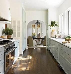 Galley Kitchen Designs Blue Tea Kitchens