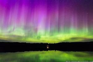 Purple Rain Northern Lights ⋆ Bryan Hansel Photography