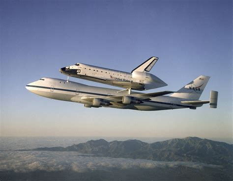 Drag Could The Shuttle Carrier Aircraft Do A