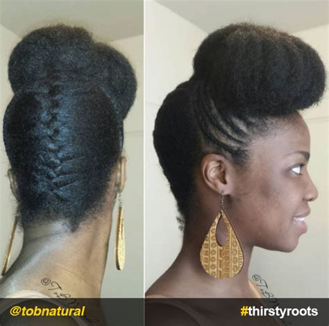 natural hair updo hairstyles   create