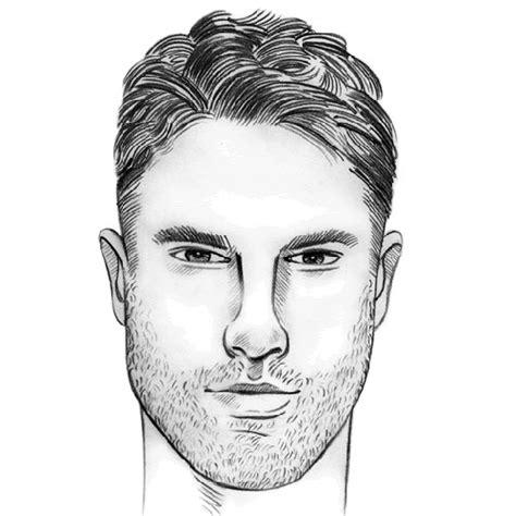 mens haircuts   face shape  guide