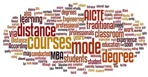 engineering  mba degrees  distance learning