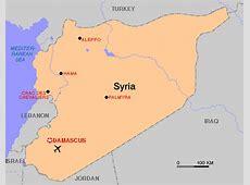 Syrie kaart