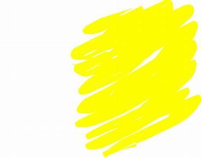 Yellow Brush Clip Clker Clipart Vector