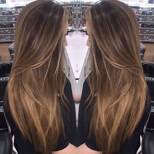 Balayage Long Hair Straight