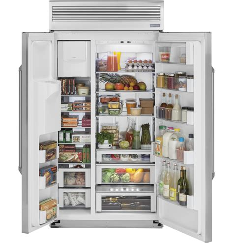 zispdkss monogram  built  professional side  side refrigerator  dispenser