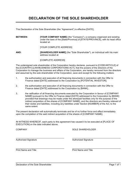 sample declaration letter format declaration letter