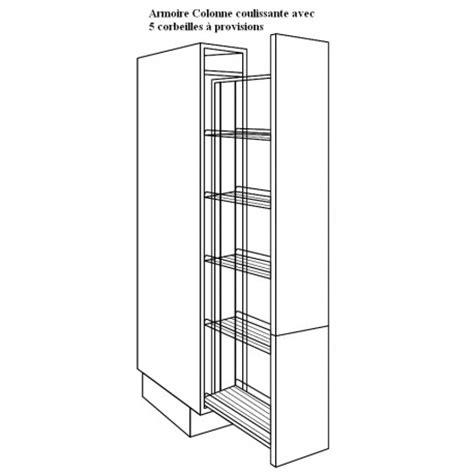 colonne cuisine 30 cm meubles de cuisine 15 créer sa cuisine