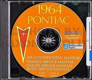1964 Pontiac Sales Manual Data Book Dealer Album Original