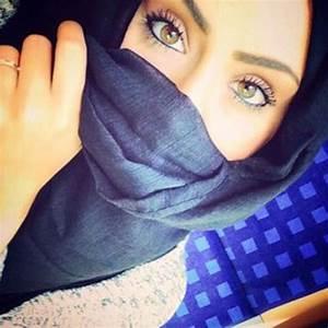 Beautiful Eyes Hazel Niqab Hijab Pretty Girl | We Heart It ...