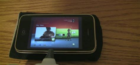 how to connect phone to xbox 360 how to play xbox 360 on iphone 3gs 171 smartphones gadget