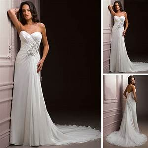 sweetheart neckline applique waist chiffon discount With wedding dresses for tall ladies