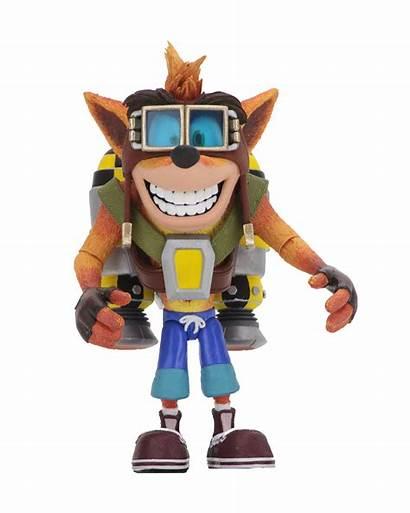 Crash Bandicoot Action Neca Figure Figures Soars