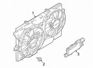 Ford Taurus Engine Cooling Fan Assembly