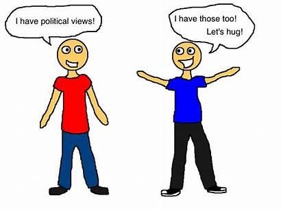 Arguing Comic Talking Clipart Race Haley Politics