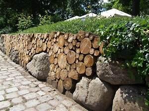 Steine Mauer Garten : steinmauer als blickfang und sichtschutz im garten 40 ideen ~ Watch28wear.com Haus und Dekorationen