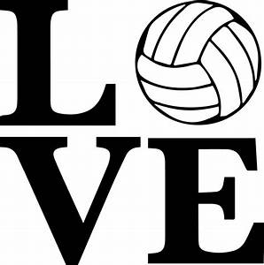 Volleyball, Words, Clipart, Free