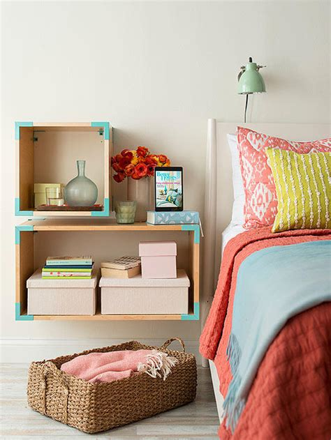 creative storage for small bedrooms creative storage ideas for small spaces better homes 18581   102205924